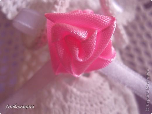 Вязание крючком - Ангел Кристал.