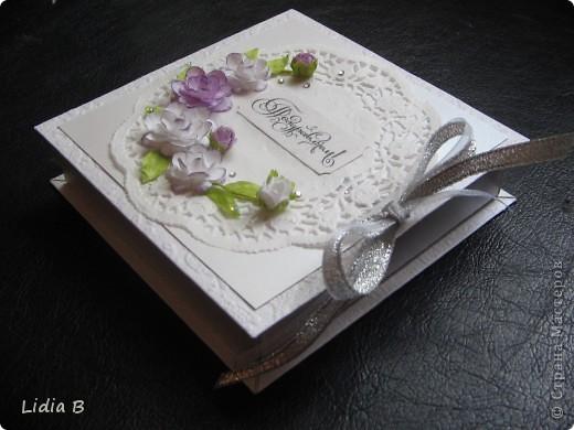 Хотелось сделать коробочку такую же нежную, как невеста. фото 3