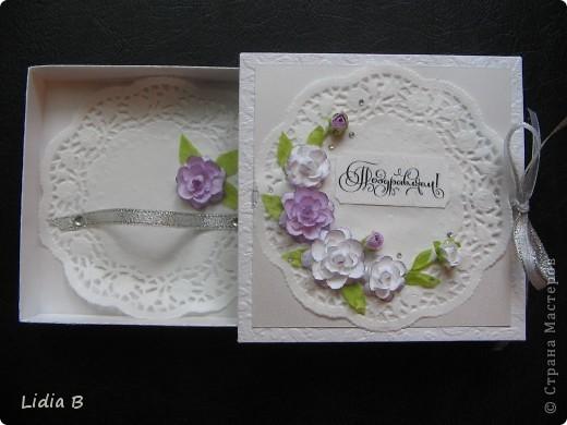 Хотелось сделать коробочку такую же нежную, как невеста. фото 4