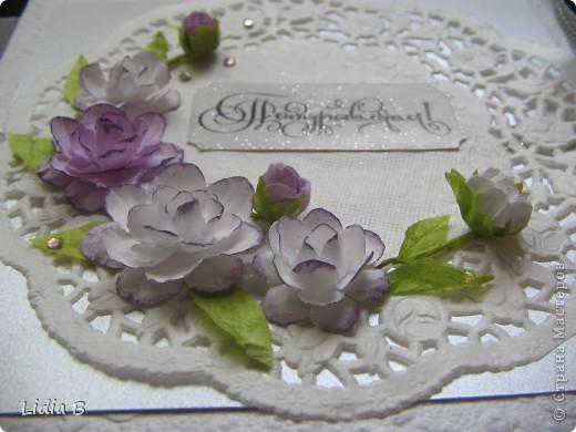 Хотелось сделать коробочку такую же нежную, как невеста. фото 1
