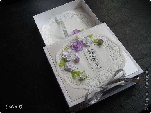 Хотелось сделать коробочку такую же нежную, как невеста. фото 6