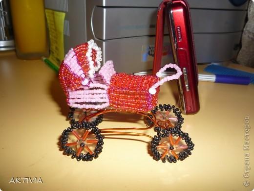 коляска к рождению дочки моей подруги фото 1
