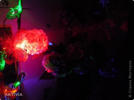 мой бисерный цветок и выращенный мамой. что лучше? =) фото 4