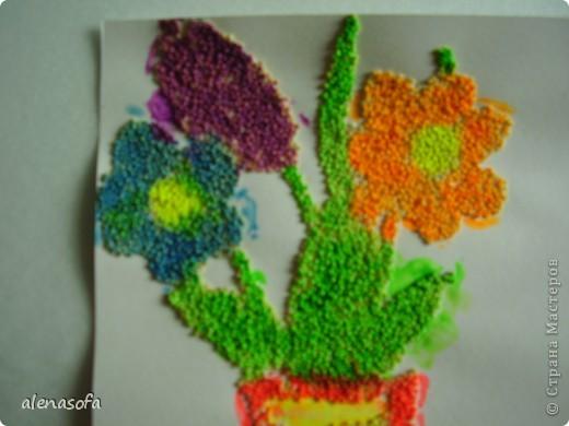 Решили сделать его праздничным и подарить на День учителя одной из наших бабушек фото 2