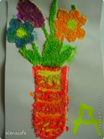 Решили сделать его праздничным и подарить на День учителя одной из наших бабушек фото 3