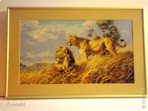Счетный крест. Львы.