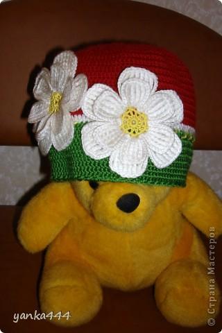 шапочка и шарфик для внучки друзей фото 4