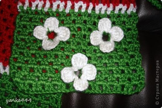 шапочка и шарфик для внучки друзей фото 3