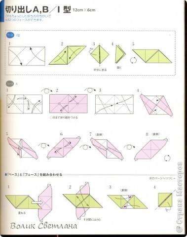 Здравствуйте, дорогие мастерицы и мастера!!!! Вот наконец-то демонстрирую продолжение глобальной коллекции. Все собрано, украшено и самое главное отфотографированно. Глоб из книги Томоко Фусе Floral Globe Origami  стр. 23 и 25 фото 6