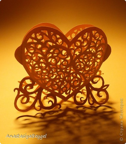 Мое кружевное сердечко
