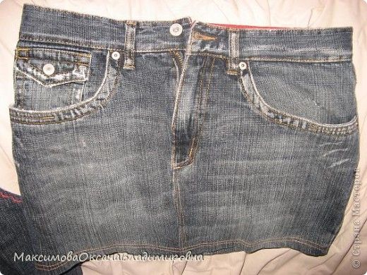 Лежали, лежали старые джинсы мужа на полке....и дождались... фото 2