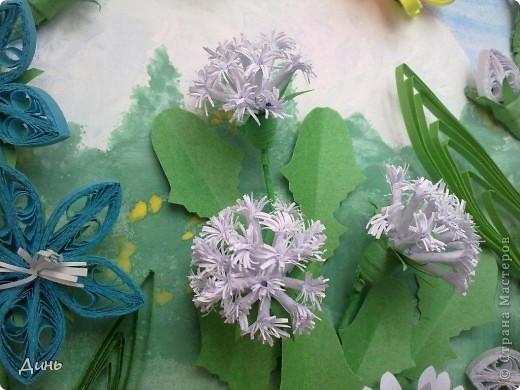 Это мои полевые цветы. Большое спасибо Анне Сожан за идею! https://stranamasterov.ru/node/87849  Увидела ее охапку полевых цветов и не смогла удержаться. Фон немного изменила. фото 4