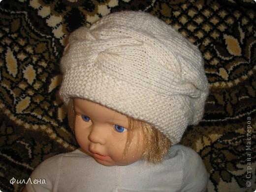Мои вязанные шапочки фото 1