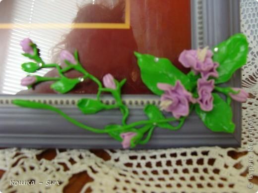 Цветы из полимерной глины фото 4