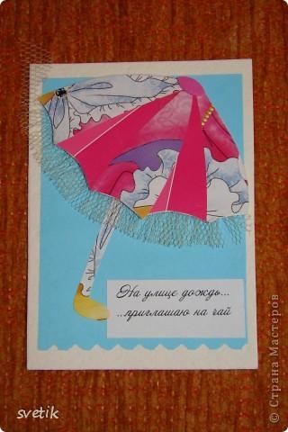 """Девочки, я сегодня такая счастливая - получила две карточки по заданной теме""""Пэчворк"""" и готова отчитаться! Вот они, во всей красе! фото 8"""