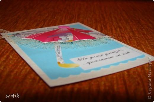 """Девочки, я сегодня такая счастливая - получила две карточки по заданной теме""""Пэчворк"""" и готова отчитаться! Вот они, во всей красе! фото 9"""