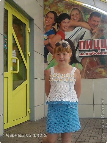 Связалась, вот такая, замечательная юбочка к топу...))) Взята идея с Осинки http://club.osinka.ru/topic-77395 фото 5