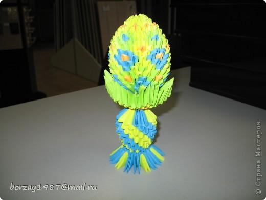 Мои первые работы в технике модульное оригами фото 5