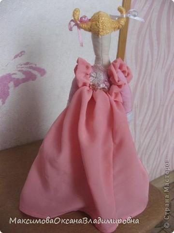 Эту Тильдочку я сшила невестке на день рождения в её розовую спальню. фото 7