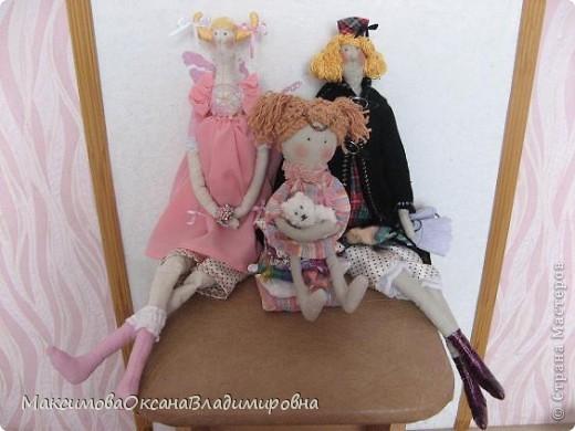 Эту Тильдочку я сшила невестке на день рождения в её розовую спальню. фото 9
