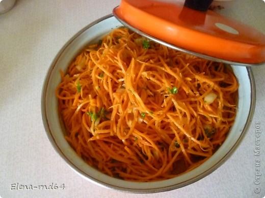 Здравствуйте,девочки!Приглашаю вас приготовить всем известную морковь,,Ча,,. фото 6
