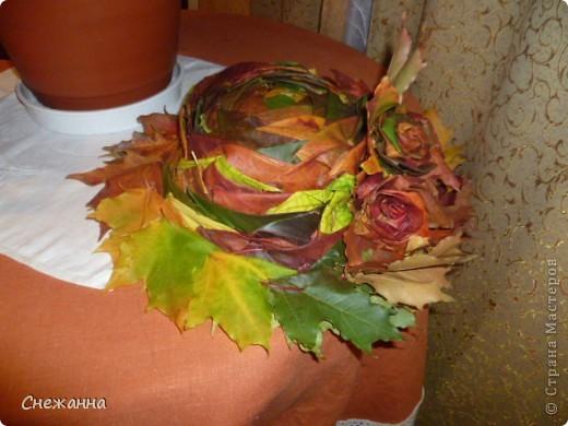 Вот такую шляпку мы сделали на конкурс в школу блягодаря МК Татьяны Бондаренко   http://stranamasterov.ru/node/139518?tid=451%2C668  фото 1