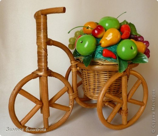 Добрый день, дорогие мастерицы!!!!! Хочу показать вам мечту садовода-огородника!!!!! Я уже декорировала велосипед цветами, выполненными в технике канзаши http://stranamasterov.ru/node/213355 фото 4