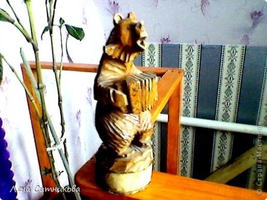 Медведь с баяном фото 2