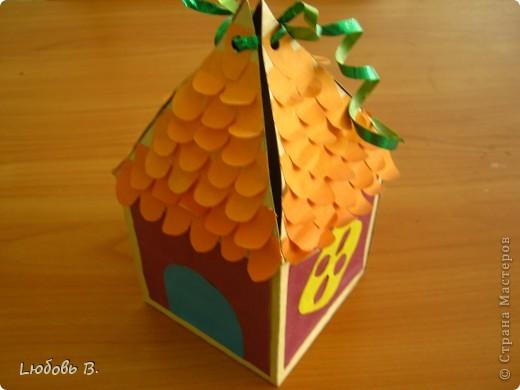 """Подарочная упаковка """"Домик"""""""
