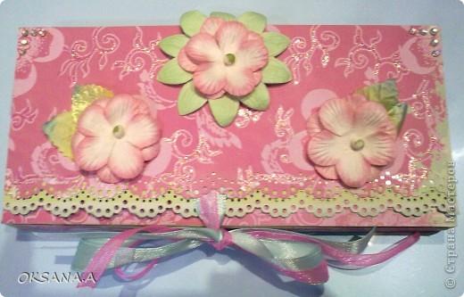Это моя открытка-шоколадница. Увидела я ее у Юли (Yulia L) http://stranamasterov.ru/node/195815. Юля, спасибо тебе большое за схемку!!! фото 1
