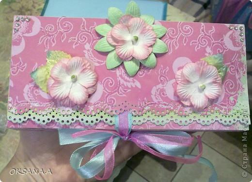 Это моя открытка-шоколадница. Увидела я ее у Юли (Yulia L) http://stranamasterov.ru/node/195815. Юля, спасибо тебе большое за схемку!!! фото 4