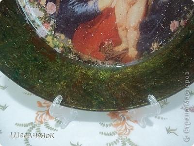 Вот такая у меня получилась тарелочка. фото 12