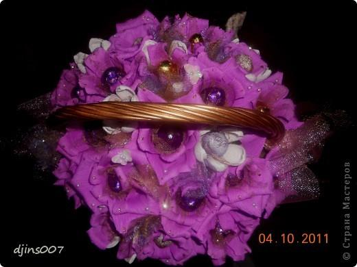 конфетный букет фото 2