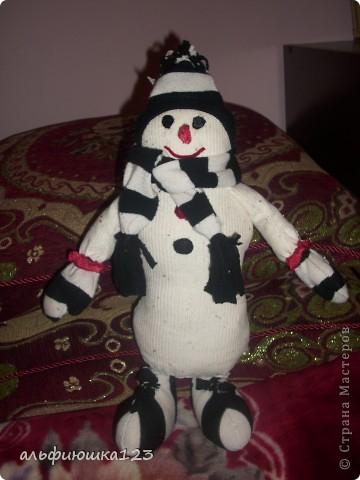 Еще один веселый снеговик))) фото 1