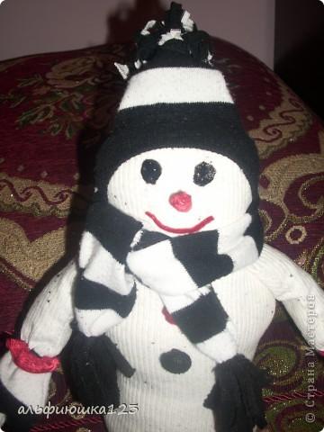 Еще один веселый снеговик))) фото 2