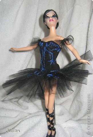 Это мой Черный лебедь. У меня было достаточно свободного времени чтобы сделать ее. фото 4