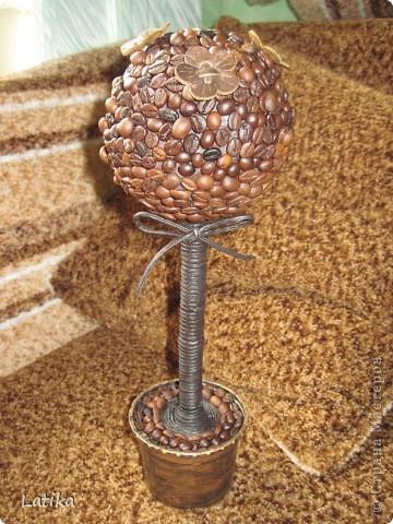 Это первое,с кожаными цветочками и ствол обмотала кожаным шнуром! фото 1