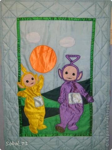 Летнее одеяло для маленького поклонника детского сериала.