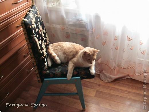 Наконец то закончила  стул, или это кресло или ... трон)))) фото 2