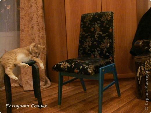 Наконец то закончила  стул, или это кресло или ... трон)))) фото 1