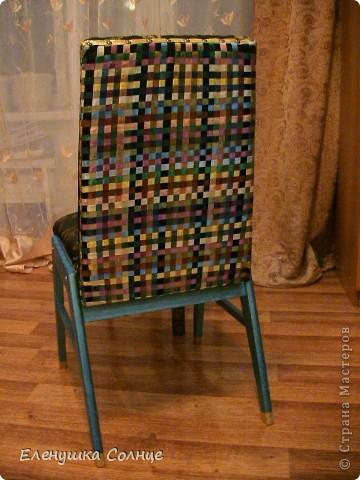 Наконец то закончила  стул, или это кресло или ... трон)))) фото 5