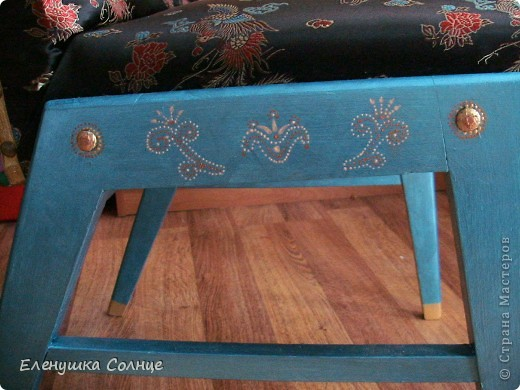 Наконец то закончила  стул, или это кресло или ... трон)))) фото 8