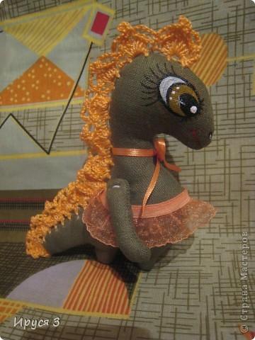 Вот, ещё одну девочку сшила -)))  Дракоши шьются легко , чуть позже ещё буду шить -)))))  фото 1