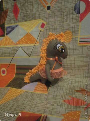 Вот, ещё одну девочку сшила -)))  Дракоши шьются легко , чуть позже ещё буду шить -)))))  фото 3