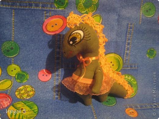 Вот, ещё одну девочку сшила -)))  Дракоши шьются легко , чуть позже ещё буду шить -)))))  фото 2