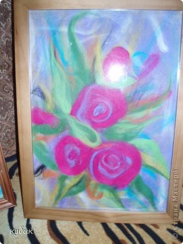 Девочки, поздравляю вас с Днем учителя.Эту картину я сделала в подарок моей сестре(она у меня учитель физ-ры) фото 6