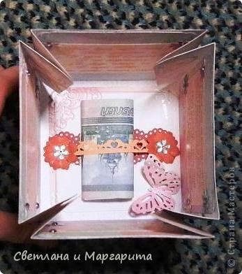 Вот какая коробочка получилась, благодаря es-denol. Спасибо, Ольга!  Выставляем на Ваш строгий суд, дорогие мастерцы!   фото 5