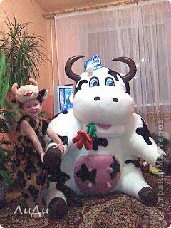 Корова к году быка.  фото 2
