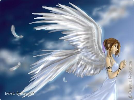 Вот такой ангел у меня получился! фото 4