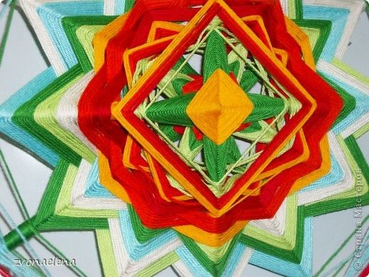 Новая индейская плетеная мандала состояния фото 2